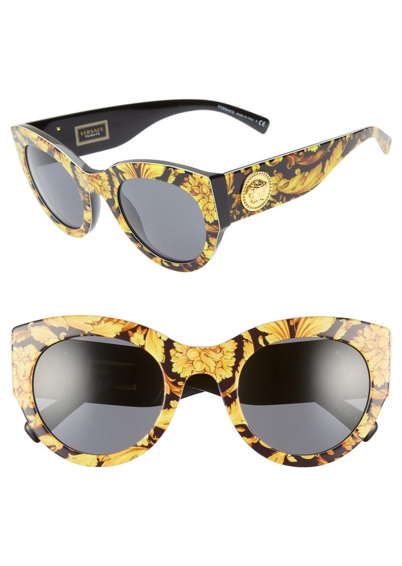 9519e0362bc1 Versace Versace Tribute 51mm Cat Eye Sunglasses | Sunglasses