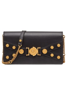 Versace Tribute Leather Shoulder Bag