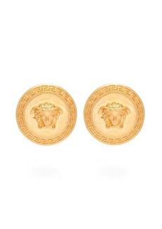 Versace Tribute metal earrings