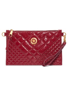 Versace Tribute Patent Leather Crossbody Pouch