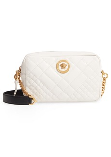 Versace Tribute Quilted Leather Camera Bag