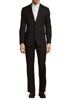 Versace Two-Button Wool Suit