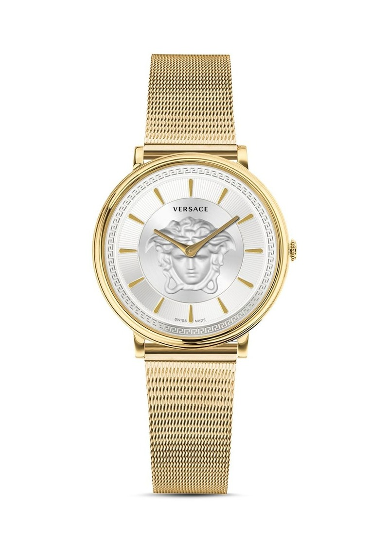 Versace V-Circle Medusa Watch, 38mm