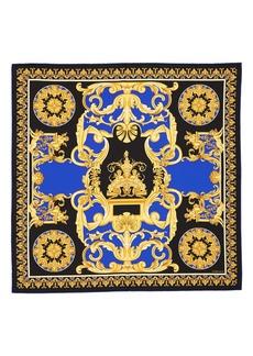 Versace Wild Baroque Silk Scarf