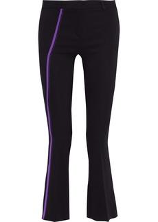 Versace Woman Cady Bootcut Pants Black