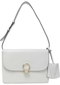 Versace Woman Leather Shoulder Bag White