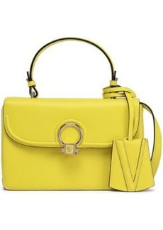Versace Woman Leather Shoulder Bag Yellow