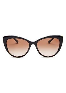 Versace Women's Cat Eye Sunglasses, 57mm