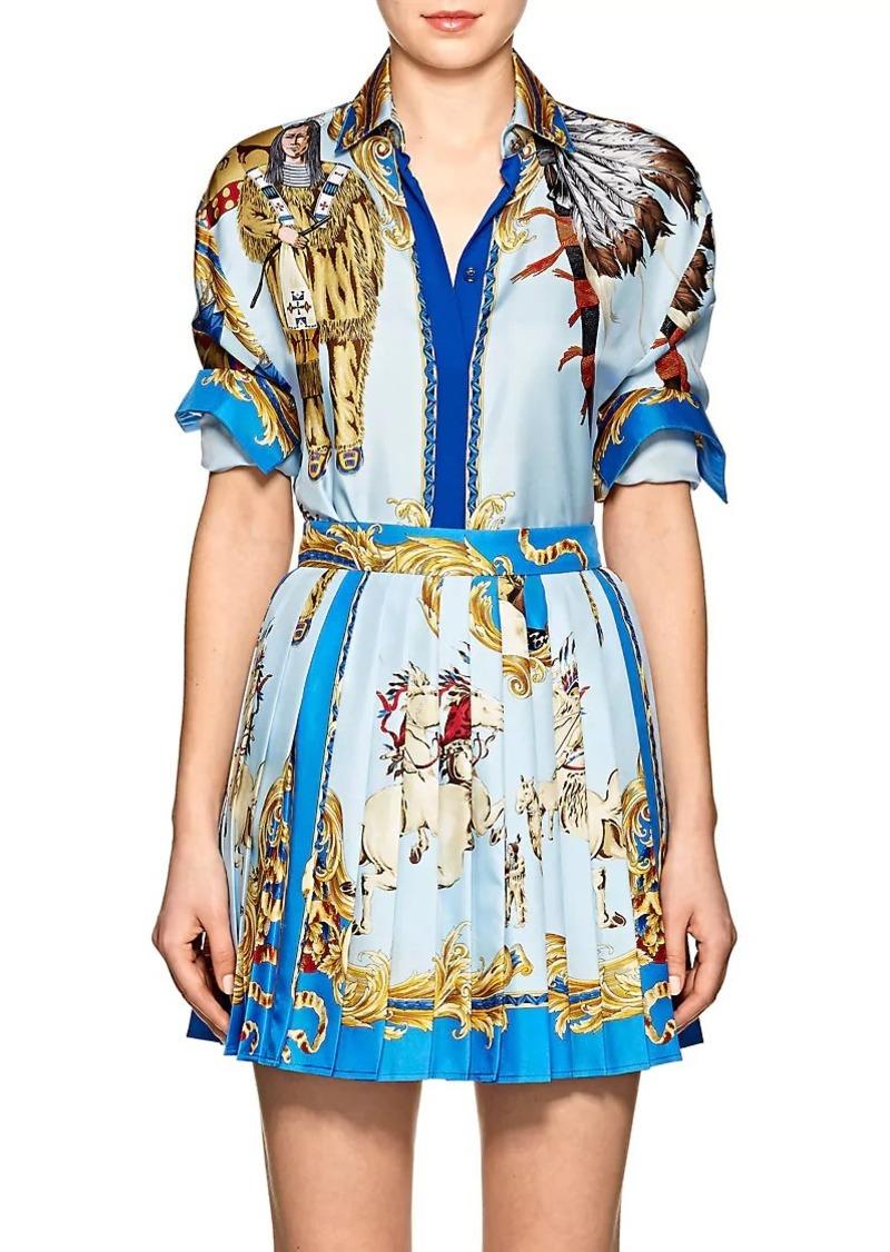 8ecf066038 Women's Graphic Silk Blouse