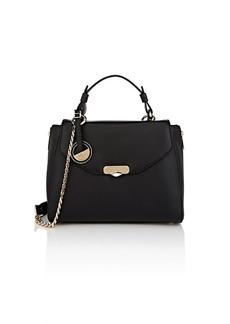 Versace Women's Leather Satchel - Black
