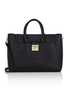Versace Women's Leather Shoulder Bag - Black