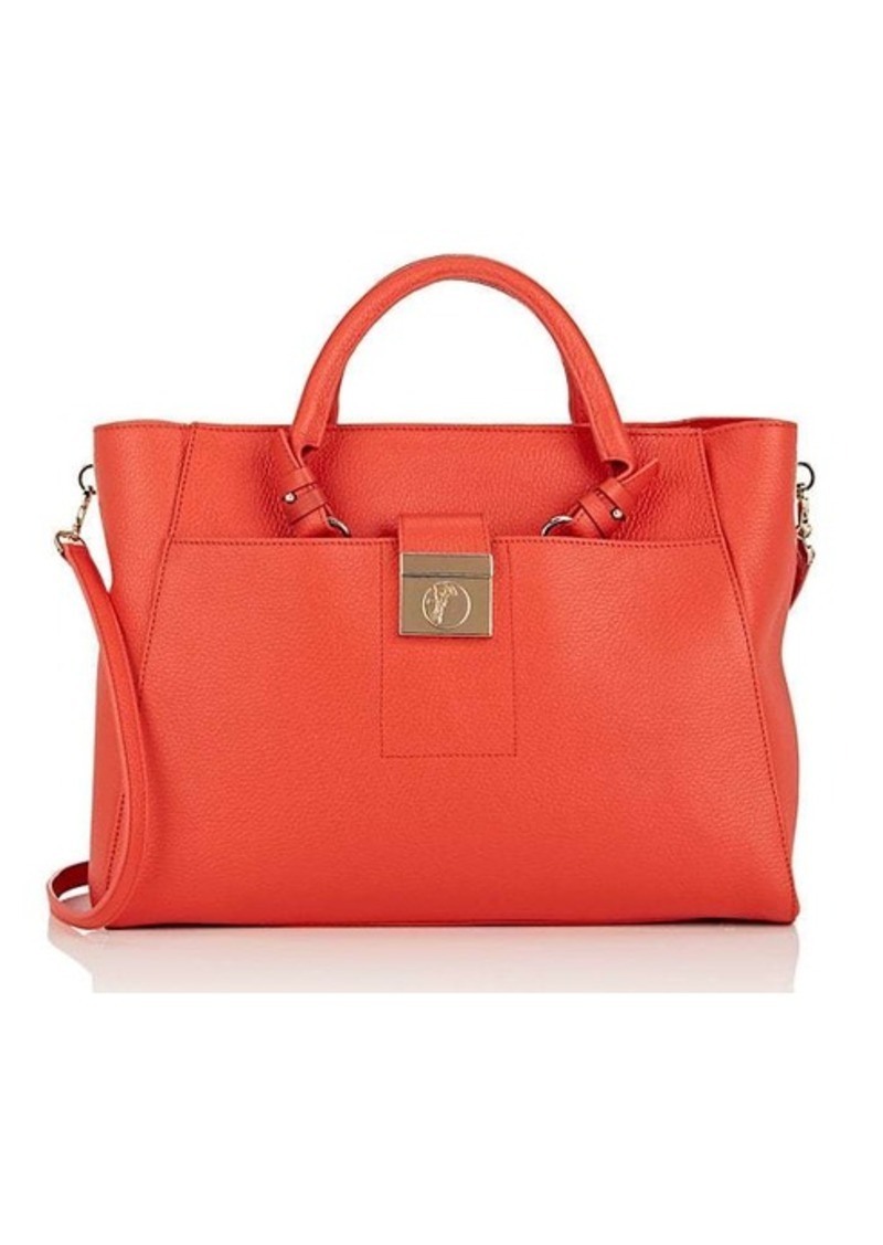 Versace Women's Leather Tote Bag
