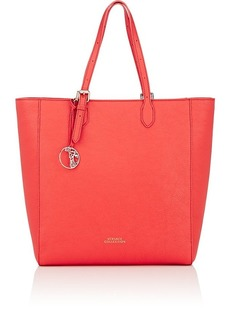 Versace Women's Leather Tote Bag - Red