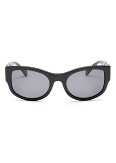 Versace Women's Polarized Cat Eye Sunglasses, 55mm