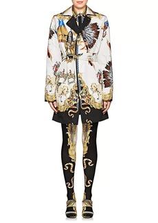 Versace Women's Reversible Graphic Cotton-Silk Jacket