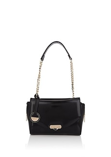 Versace Women's Small Leather Shoulder Bag - Black