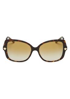 Versace Women's Square Sunglasses, 56mm