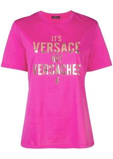 Versace Versachee-print T-shirt