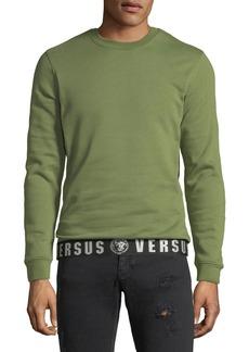 Versace Versus-Band Pullover Sweatshirt