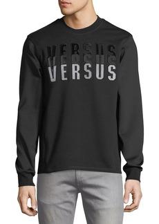 Versace Versus Embroidered Sweatshirt
