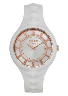 VERSUS Versace Fire Island Silicone Strap Watch, 39mm