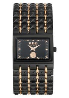 VERSUS Versace Velasca Studded Bracelet Watch, 40mm x 49mm