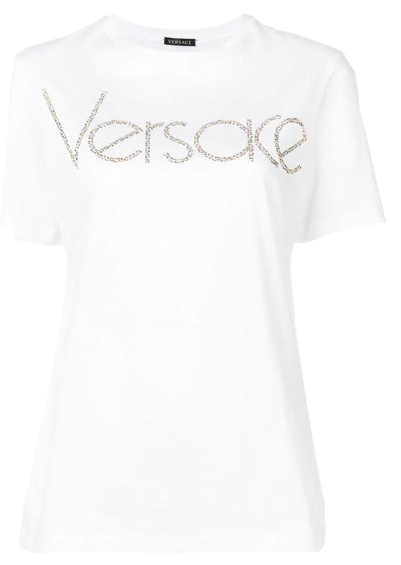 Versace Vintage Logo embellished T-shirt