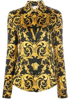 Versace Virtus Medusa Baroque print shirt