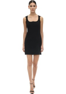 Versace Viscose Gabardine Dress
