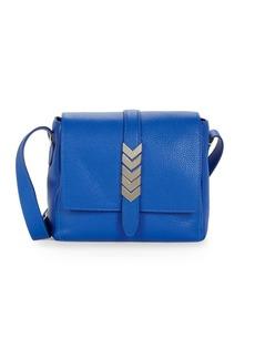 Versace Vitello Leather Square Shoulder Bag