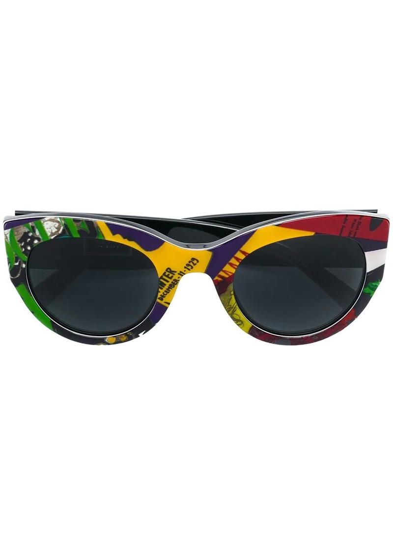 Versace Vogue print sunglasses
