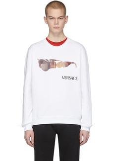 Versace White Biggie Sweatshirt
