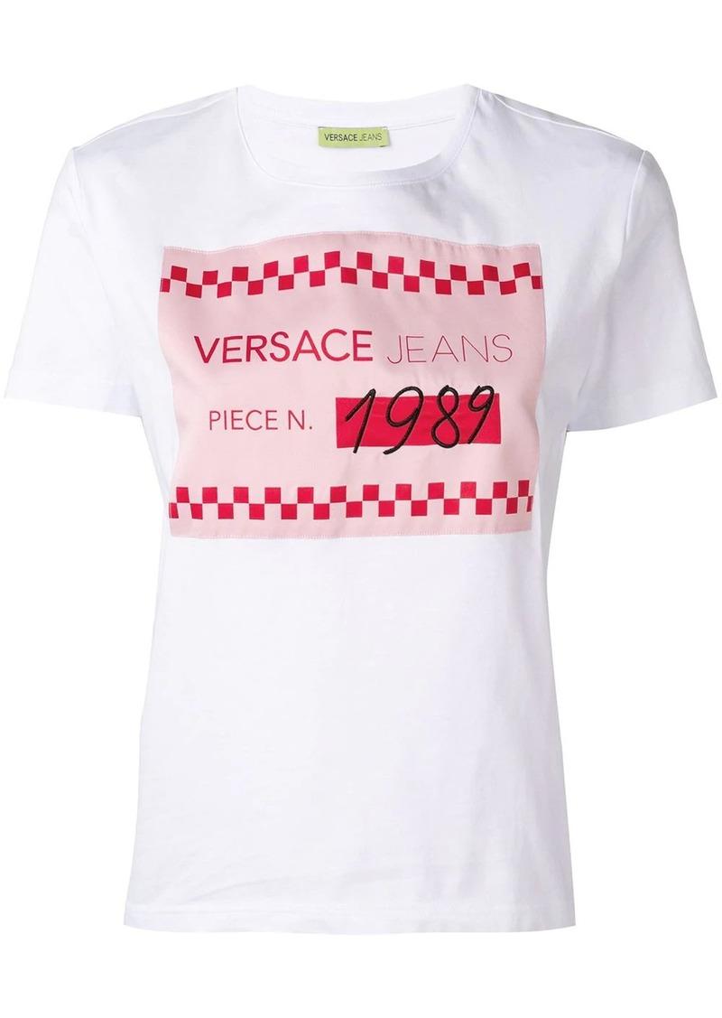Versace white graphic T-shirt