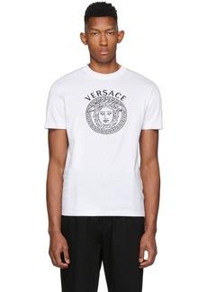 Versace White Medusa Head T-Shirt