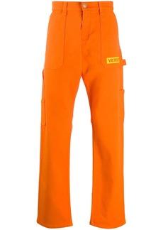 Versace wide-leg long jeans