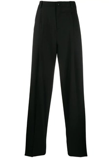 Versace wide-leg tailored trousers