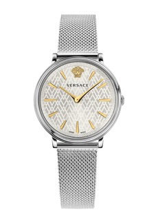 Versace Women's V-Circle Lady Mesh Bracelet Watch, 38mm