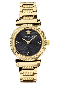 Women's Versace V-Motif Stainless Steel Bracelet Watch