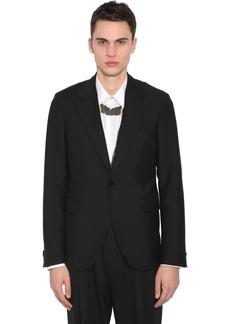 Versace Wool & Mohair  Jacket W/ Bondage Straps