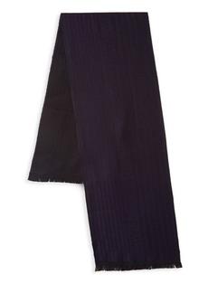 Versace Wool Stripe Scarf