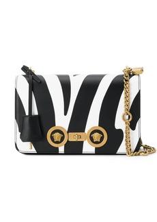Versace zebra print shoulder bag
