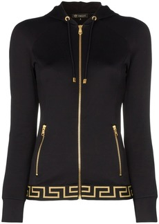 Versace zip-up logo track jacket