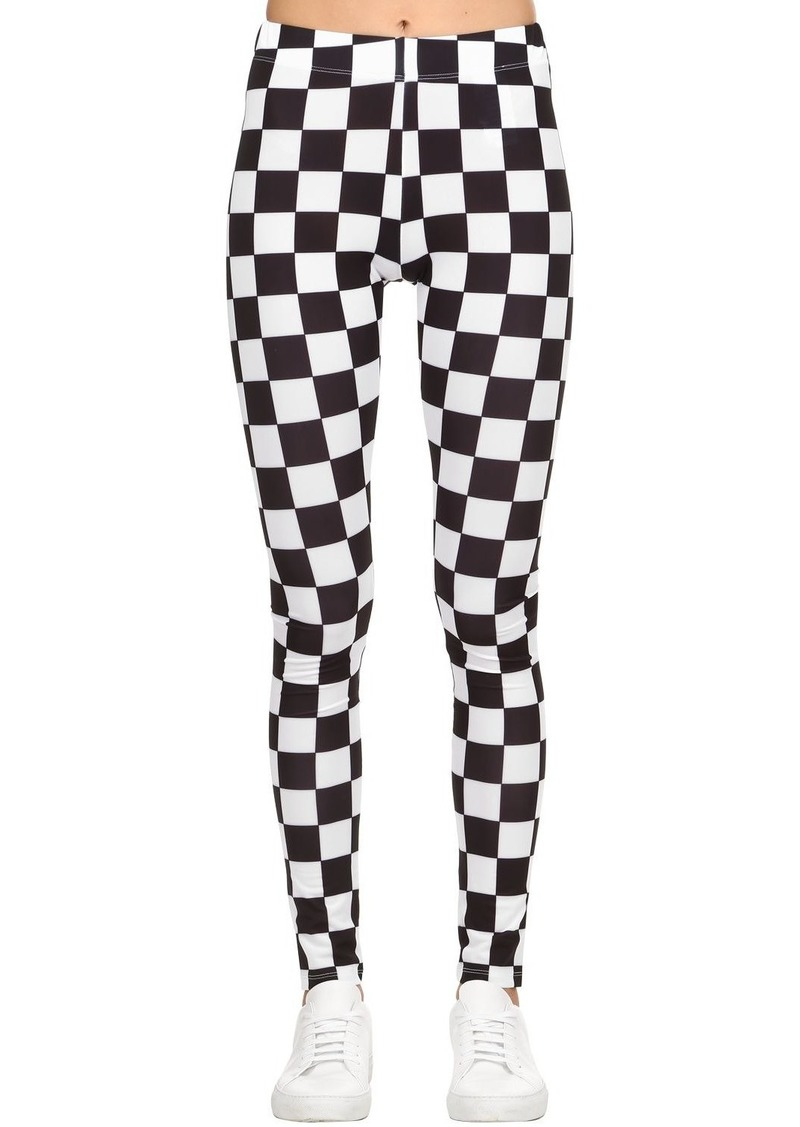 2a9da4a0cc SALE! Versus Checkerboard Print Lycra Leggings