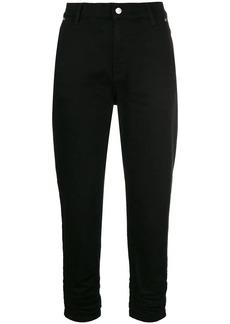Versus cropped slim-fit jeans