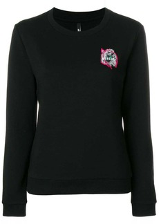 Versus lion patch sweatshirt
