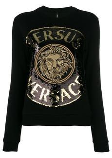 Versus logo-embroidered sweatshirt