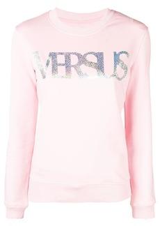 Versus metallic logo sweatshirt
