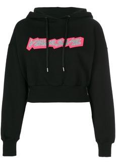 Versus printed logo hoodie
