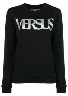 Versus printed logo sweatshirt