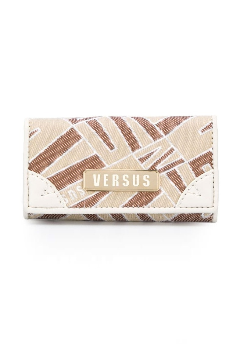Versus printed panel purse
